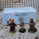 BOYDS BEARLY A SCHOOL VILLAGE FIGURINES *NEW STORE STOCK** RETIRED
