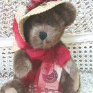 """BOYDS AUNTIE LAVONNE HIGGENTHORPE 12"""" TALL RETIRED BEAR & HAT ***NEW STORE STOCK"""
