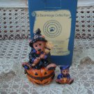 BOYDS HALLOWEEN CUTE WITCH BEAR LE BEARMOGE BOX RETIRED **NEW STORE STOCK**