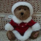 BOYDS ANASTASIA BEARSKOFF EXCLUSIVE 2001 CHRISTMAS BEAR  *NEW STORE STOCK*