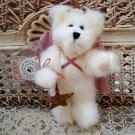"BOYDS 2001 QVC EXCLUSIVE TAIRA 6"" TALL CHRISTMAS ANGEL BEAR WITH STAR ORNAMENT"