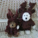 ADORABLE MOOSE REINDEER OUTFIT FOR BOYD'S BEARS ***SO CUTE***