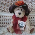 "BOYDS MISS HEDDA BEARIMORE RETIRED 10"" BEAR IN HAT  ***NEW STORE STOCK**"