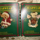 BOYDS BEARWEAR SET OF 2 RETIRED CUTE CHRISTMAS PINS **NEW STORE STOCK**