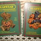 BOYDS BEARWEAR SET OF 2 RETIRED HALLOWEEN PINS **NEW STORE STOCK**
