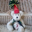 "BOYDS HB BEARWISH 8"" TALL HAPPY BIRTHDAY BEAR WITH PARTY HAT **NEW STORE STOCK**"