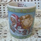 BOYDS  SANTA'S LIL HELPER CHRISTMAS MUG *NEW STORE STOCK*