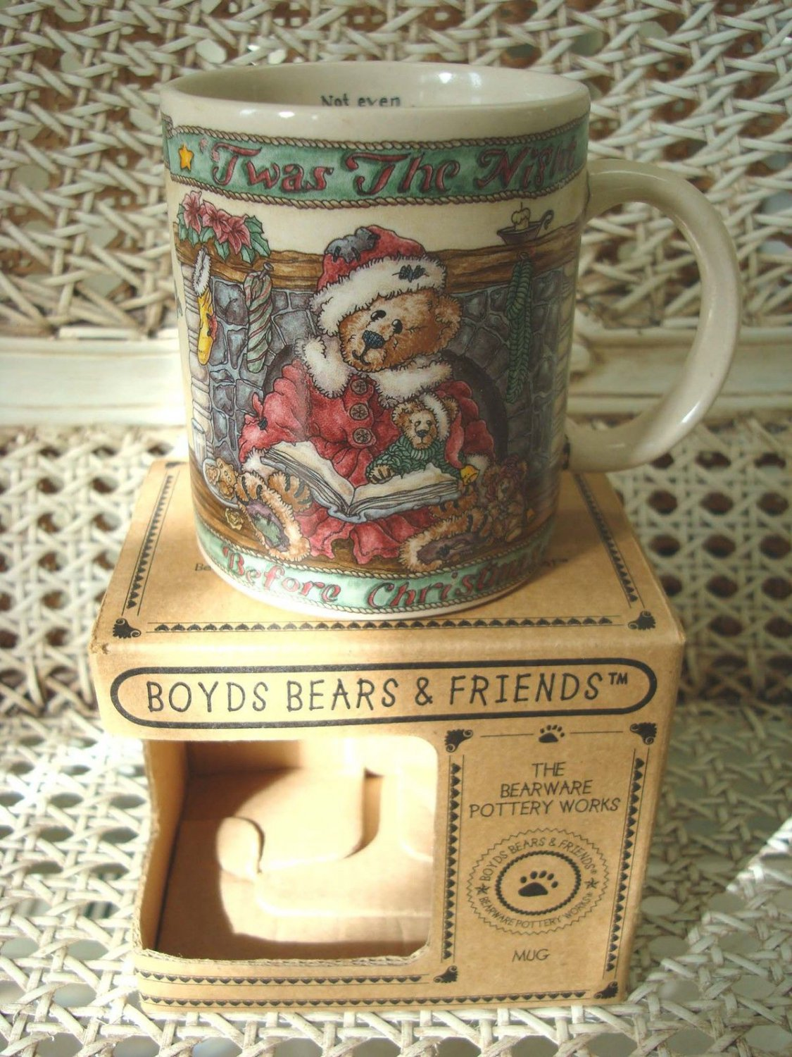 BOYDS TWAS THE NIGHT BEFORE CHRISTMAS MUG *NEW STORE STOCK*