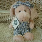 "BOYDS PRIMROSE IV RARE & RETIRED 11"" PINK PIG ***NEW STORE STOCK***"