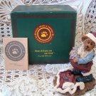 BOYDS SANTA WANNABE CUTE CHRISTMAS SANTA CLAUS BEARSTONE  *NEW IN BOX* RETIRED