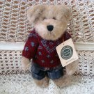 "BOYDS BRADY BEARIMORE 10"" BEAR IN SWEATER ***NEW STORE STOCK** SO CUTE"