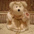 "BOYDS DESTINY ANGELBEAR 10"" EXCLUSIVE 2001 ELEGANT ANGEL BEAR"