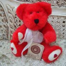 "BOYDS HUGGLEBY B. BEARIKIND 8"" RETIRED VALENTINE'S DAY BEAR ***NEW STORE STOCK**"