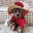 "BOYDS GINNIE HIGGENTHORPE 6"" BEAR WITH HAT RETIRED ***NEW STORE STOCK**"