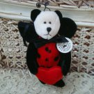 "BOYDS LADY B. LOVEBUG 5"" RETIRED VALENTINE'S DAY BEAR ***NEW STORE STOCK***"