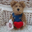 "BOYDS HERBIE BEARLOVE PLUSH 6"" RETIRED VALENTINE'S DAY BEAR ***NEW STORE STOCK**"
