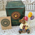 BOYDS GOODFER U  WAY TO GO BEARSTONE  *NEW IN BOX* RETIRED