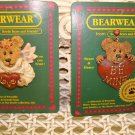 BOYDS BEARWEAR SET OF 2 RETIRED VALENTINE PINS **NEW STORE STOCK**