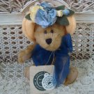 "BOYDS NANETTE DUBEARY 6"" RETIRED BEAR WITH YELLOW HAT **NEW STORE STOCK***"