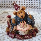 BOYDS HAPPY BIRTHDAY YOU OLD BEAR BEARSTONE *NEW IN BOX* RETIRED