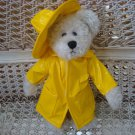 ADORABLE YELLOW RAINCOAT OUTFIT FOR BOYD'S BEARS ****SO CUTE****