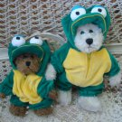 ADORABLE FROG OUTFIT FOR BOYD'S BEARS ***SO CUTE***