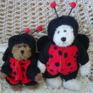 ADORABLE LADYBUG OUTFIT FOR BOYD'S BEARS VALENTINE'S DAY  ***SO CUTE***