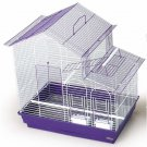 "Prevue Hendryx House Style Tiel Cage 26"" L x 14"" W x 24"" H 2 Perches/2 Feeders"