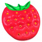 Beach Gear 5' Strawberry Pool Float With Patch Kit