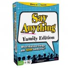 North Star Games Say Anything Family Edition With Storage Bag 8 & Up