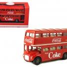 1960 Routemaster London Double Decker Bus Coca-Cola 1/64 Diecast Model