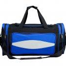 Crown Sporting Goods 20 Inch Blue 600HD Tuff Cloth Canvas Duffel Bag