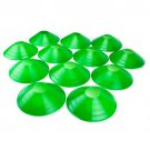 Crown Sporting Goods Set of 12 Two-Inch Tall Green Field Cones