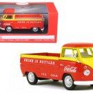 1962 Volkswagen Pickup Truck Coca Cola Orange and Yellow 1/43 Diecast Model Car