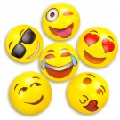 "Beach Gear 18"" Emoji Beach Balls Pack of 6"