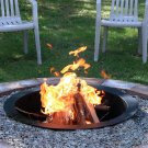 "Sunnydaze Decor 36"" Heavy Duty Fire Pit Rim"