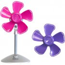 "Keystone KSTFF100APK Purple/Pink 10"" Flower Fan Interchangeable Heads"