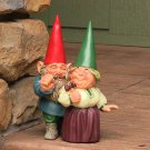 "Arnold and Sarah Get Married Gnome 8.5"" Tall by Sunnydaze Decor"