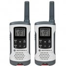 Motorola T260 White Rechargeable 2 Pack FRS 25 Mile Range NOAA Radios