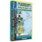 Fishing Hot Spots PRO Saltwater 2017 f/Lowrance Simrad GPS Units Chartplotters
