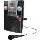 GPX Audio Karaoke Party Machine 1 Microphone LED Lighting