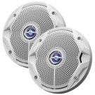 "JBL MS6520 180W 6.5"" Coaxial Marine Speakers Pair White"