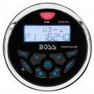 Boss Audio MGR350B Marine Gauge Style Radio MP3/CD/AM/FM/RDS Receiver
