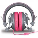iSound HM-260 Headphones With Mic Gray & Pink