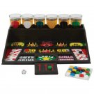 Maxam 31 Piece Drinking Game Game Board Shot Glasses Dice