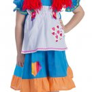 Rainbow Rag Doll Dress Hat Elastic Band Waist Arms