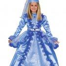 Blue Fairy Girls Halloween Costume Gown Fairy Hat Belt