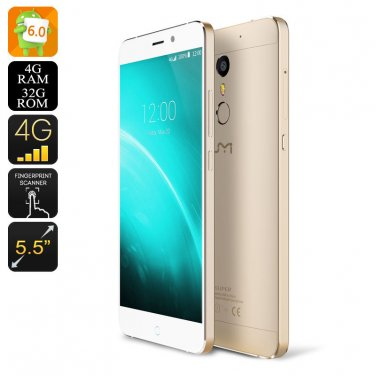 UMI Super Android Smartphone - Octa Core CPU, 4GB RAM, 4G Dual SIM, Android 6.0