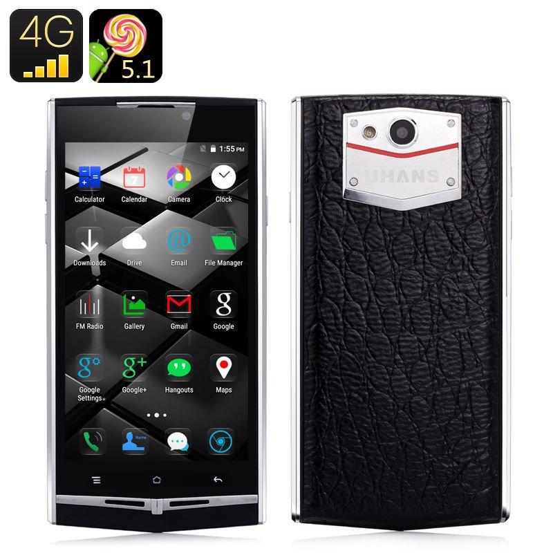 uhans u100 android 5 1 smartphone 4g dual sim 4 7 inch. Black Bedroom Furniture Sets. Home Design Ideas