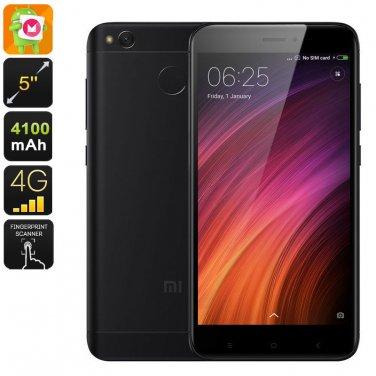 Android Mobile Phone Xiaomi Redmi 4X - Snapdragon CPU, 2GB RAM, Dual-IMEI, 4G